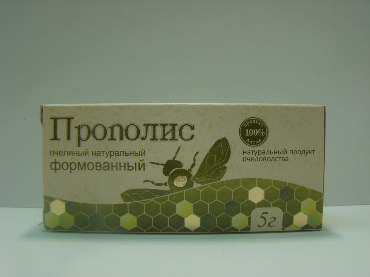 Прополис пчелиный натуральный Алтайский букет 5 г (4605738000597)
