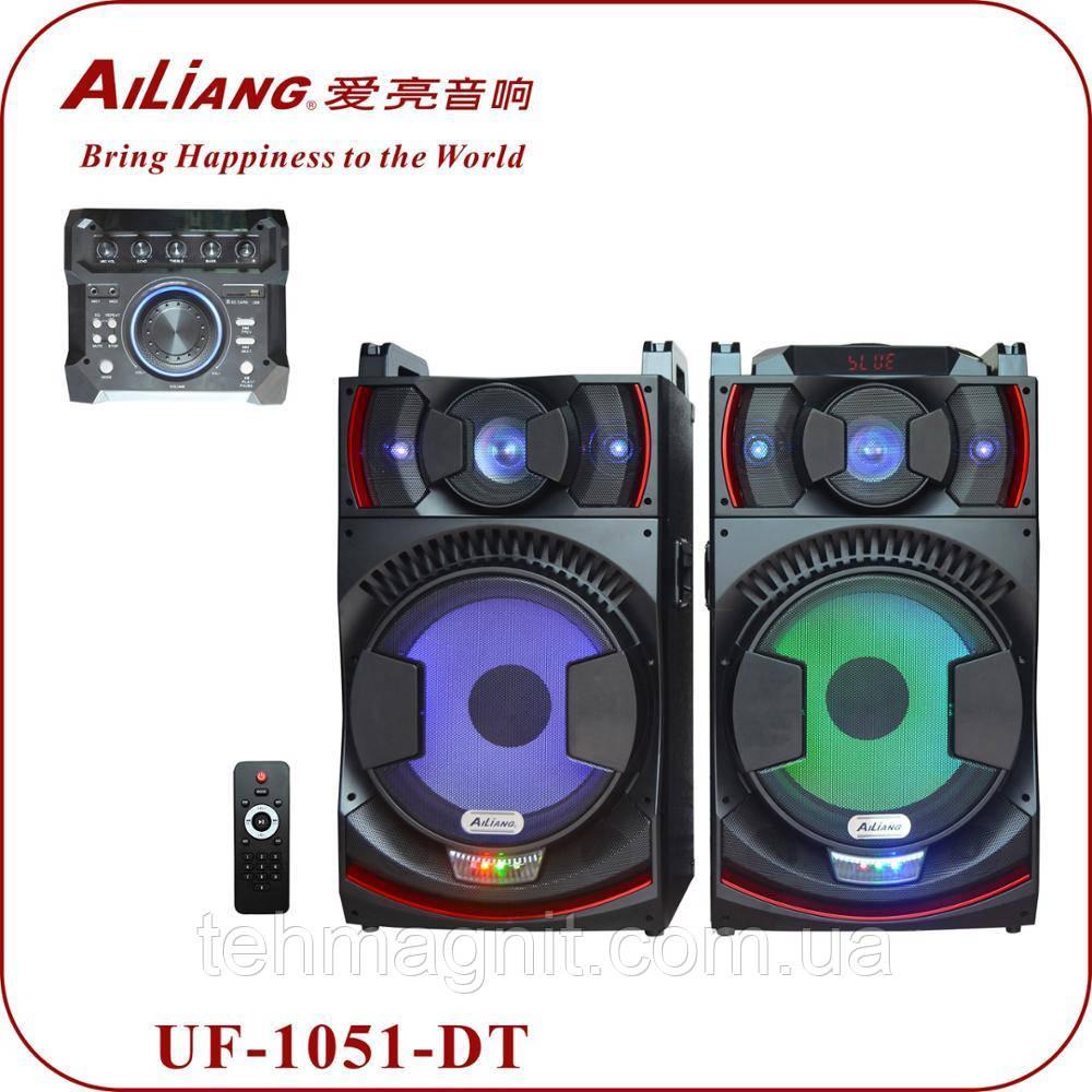 Комплект мощной акустики  Ailiang UF-1051-DT 400W (USB/FM/Bluetooth)