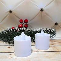 Свеча LED, для новогоднего декора, 4,5х3,5 см, 1 шт.