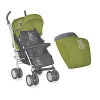 Коляска прогулочная Bertoni S 100 Green&Grey Beloved Baby