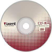 """Диск """"Axent"""" CD-R 700mb/80min 52х10шт, cake 8105 (за 10шт) 4250266233209"""