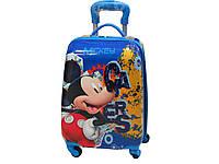 """Детский чемодан на 4-х колесах 065-37 (""""Мікі маус""""), фото 1"""