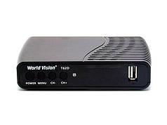 ТВ-ресивер World Vision T62D