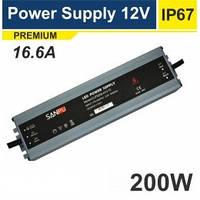 Блок питания герметичный Premium 12V 200W