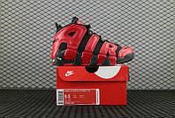 """Кроссовки Nike Air More Uptempo """"Black/Red"""", фото 1"""