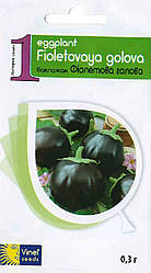 Семена баклажана Фиолетовая голова 0,3 г, Империя семян