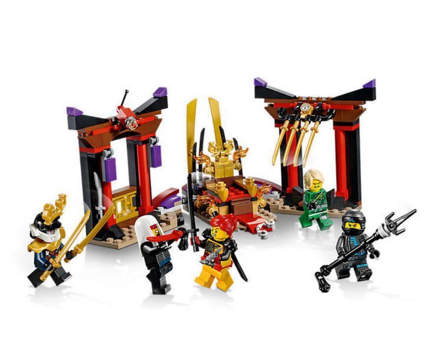 Конструктор Bela 10935 Ninja ниньзя Ninjago ниньзяго Решающий бой в тронном зале 251 деталей
