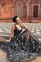 Вечернее платье с декором 29064, фото 1
