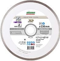 Круг алмазный Distar 1A1R Gres Ultra 230 мм сплошной отрезной диск по керамограниту и плитке на станок, Дистар