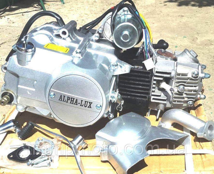 Двигатель 49,9 куб Альфа / Дельта механика оригинал