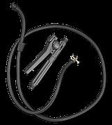 Ручка с клапаном + шланг с латунным хомутом, HDB1723133