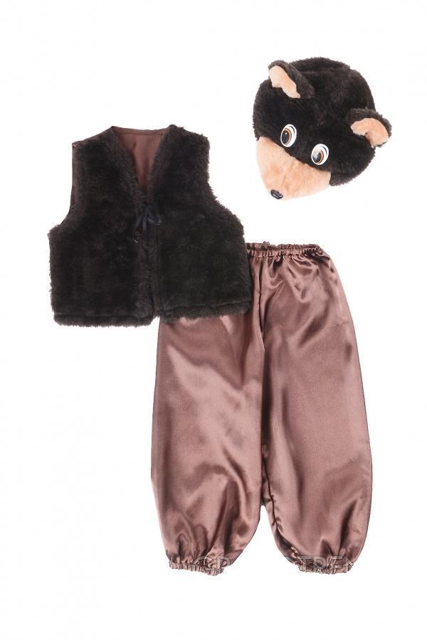 Костюм детский Мишка 2 темно коричневый