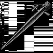 Ороситель регулируемый, линейный на колышке 360° (3 шт), DSZ-1403