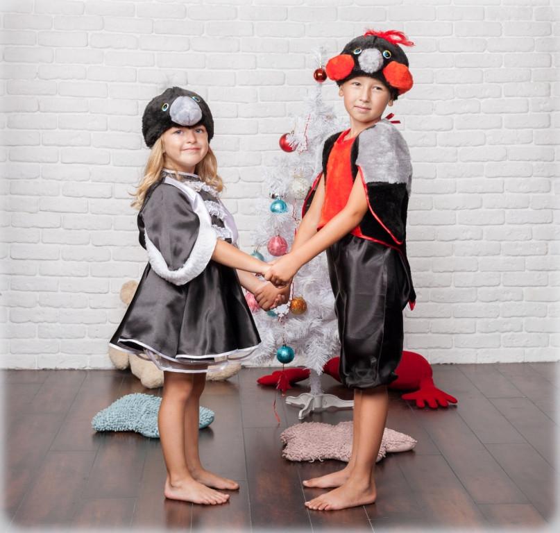 Детский карнавальный (новогодний костюм) Снегирь