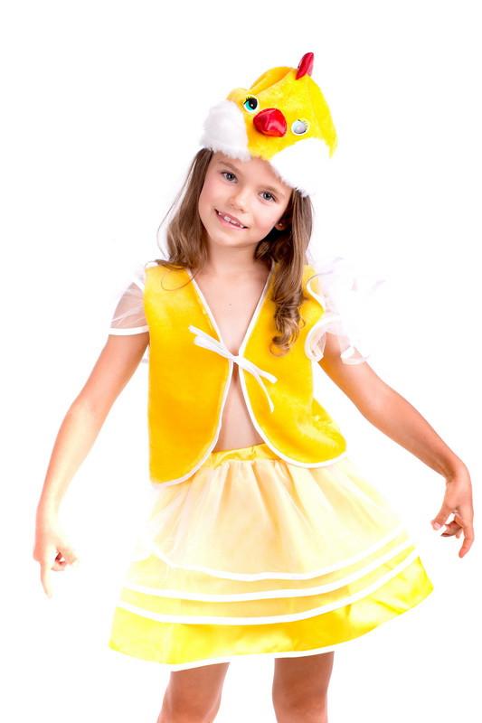 Детский карнавальный костюм Курочка/цыпленок, фото 1