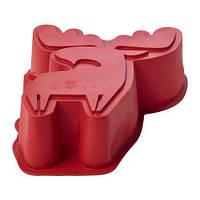 BAKGLAD, форма для выпечки в форме лося, красный, фото 1