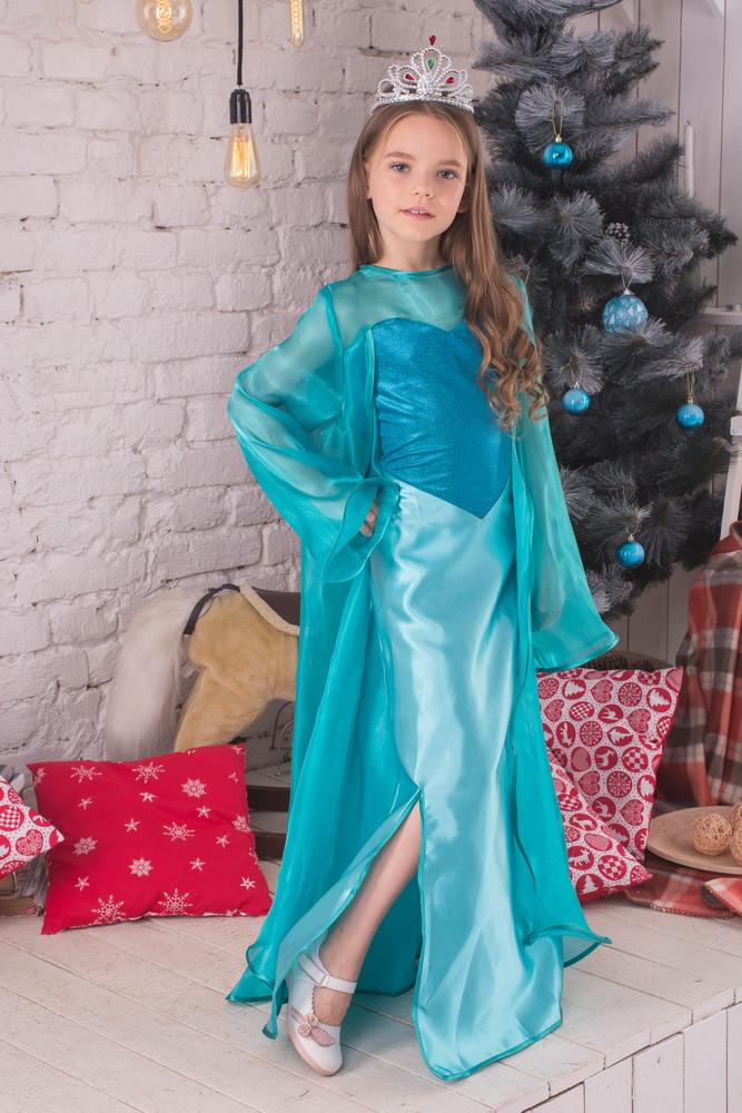 Карнавальный костюм Эльза корона , фото 1