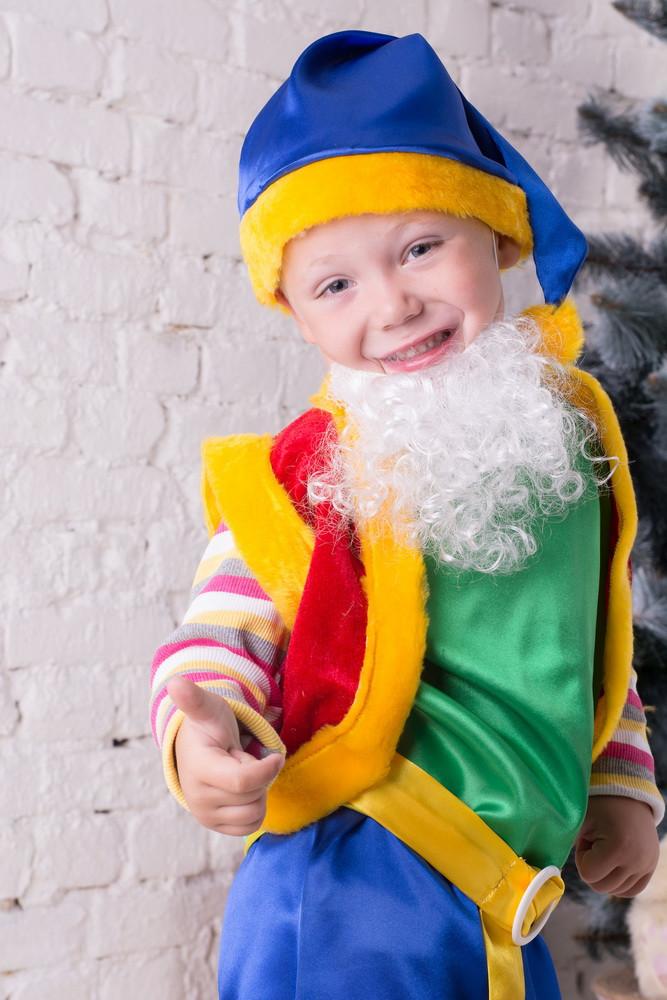 Новогодний костюм для детей Лесной гном