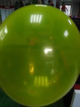 Воздушный шар 10 дюймов жёлтый 1шт