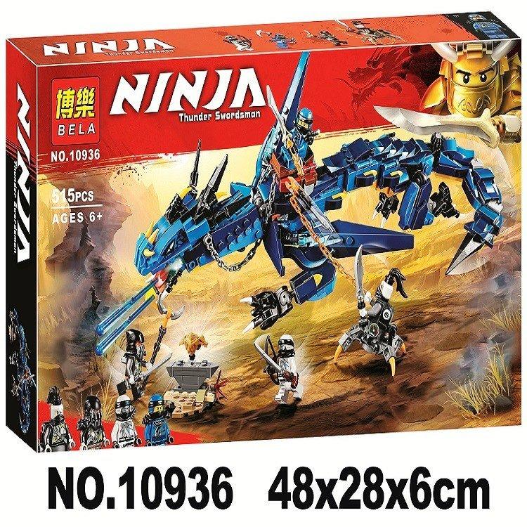 Конструктор Bela 10936 Ninja ниньзя Ninjago ниньзяго Вестник бури 528 деталей