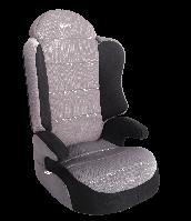 """Детское автомобильное кресло SIGER """"СПОРТ"""" серый, 3-12 ЛЕТ, 15-36 КГ, группа 2/3"""
