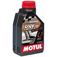 Гидравлическое масло для вилок Motul Fork Oil Factory Line Light/Medium 7,5W