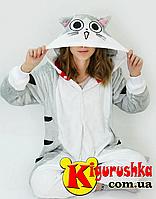 Костюм серый котик Чи кигуруми