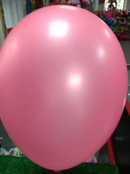 Воздушный шар 10 дюймов розовый 1шт
