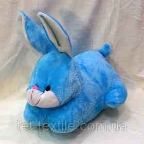 Плед - мягкая игрушка 3 в 1 Зайчик (голубой)