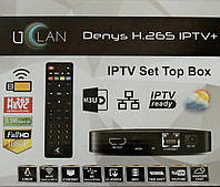 Uclan Denys H.265 IPTV+ Новинка! Приставка IPTV медиаплеер u2C Denys H.265 IPTV Plus