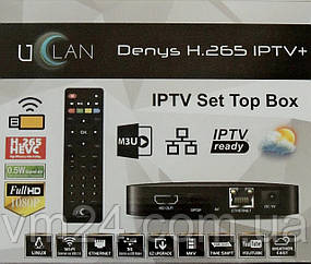 Uclan Denys H.265 IPTV+ Новинка!