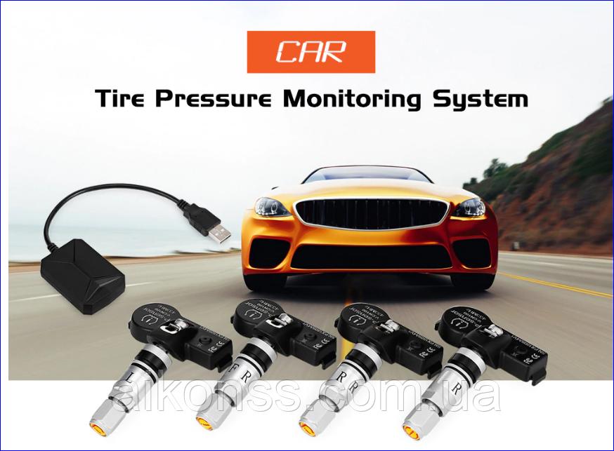USB Android TPMS система контроля давления в шинах для DVD систем автомобиля .