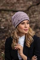Модный женский комплект шапка и хомут в 5х цветах SOPI, фото 1