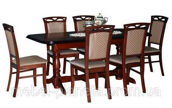 """Стол обеденный раскладной """"Гранд"""" Fusion furniture"""