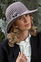 Стильная женская шляпка с широкими полями в 2х цветах MELICH, фото 1