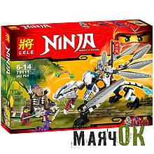 """Конструктор Lele Ninja 79111 """"Титановый дракон"""",  362 детали"""