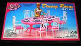 Кукольная мебель Глория Gloria 9712 Гостинная Барби, фото 2