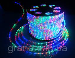 Светодиодный дюралайт 50м с контоллером, 20 led на 1м, цвет: разноцветный