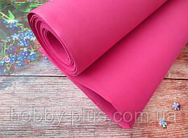 Фоамиран для ростовых цветов, 2 мм, 50х50 см, цвет красный