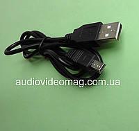 Кабель USB A на mini USB, длина 0.8 метра