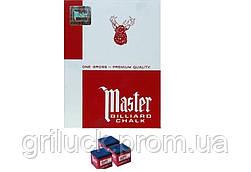 Мел для бильярда (уп. 144шт) MASTER