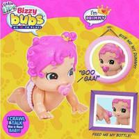 Интерактивная куколка, пупсик ползает, Little Live Bizzy Bubs Primmy, Moose Оригинал из США