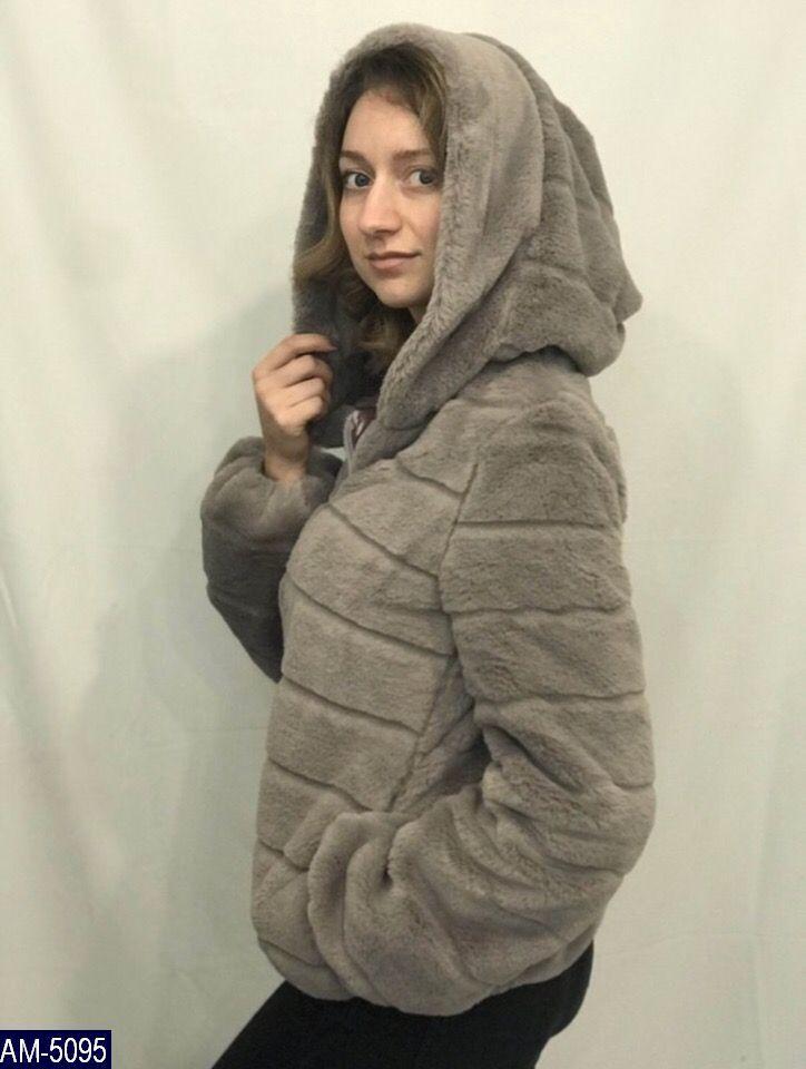Женская шуба короткая с капюшоном из искусственного меха 7 км Одесса  Новинка - Lider - интернет b2f37433f9c