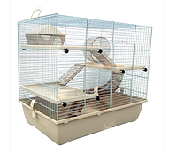 Клетка для хомяков и других мелких грызунов доступно 3 цвета
