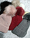 Женская зимняя шапка (5цветов), фото 2