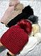 Женская зимняя шапка (5цветов), фото 6
