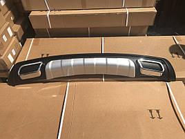Задня пластикова накладка V3 - Hyundai IX-35 2010-2015 рр.