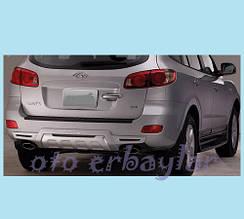 Задня накладка R008 (пластик) - Hyundai Santa Fe 2 2006-2012 рр ..