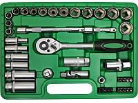 """Профессиональный набор инструментов Intertool 3/8"""", 39 предметов (ET-6039)"""