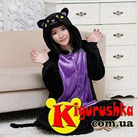 Костюм кигуруми для взрослых Полуночная кошка 616d523f5b22b